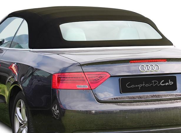 Capote Audi A5 cabriolet en Alpaga Sonnenland A5B avec lunette arrière en verre avec dégivrage