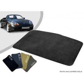 Tapis coffre sur-mesure Porsche Boxster 986 cabriolet moquette aiguilletée surjetée