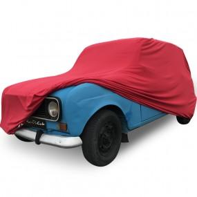 Bâche protection sur-mesure pour Renault 4L en Jersey Rouge (Coverlux+) - utilisation garage