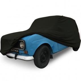 Bâche protection sur-mesure pour Renault 4L en Jersey Noir (Coverlux+) - utilisation garage