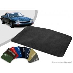 Tapis coffre sur-mesure Jaguar XJS cabriolet velours bordé