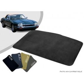 Tapis coffre sur-mesure Jaguar XJS cabriolet moquette aiguilletée surjetée