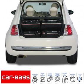 Set de bagages de voyage Car-Bags pour Fiat 500 C cabriolet