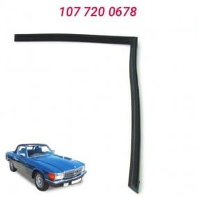 Joint droit d'entourage de vitre de hard-top pour Mercedes SL R107