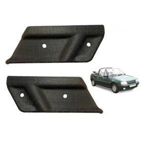 Angles de finition plastique pour capote de Peugeot 205 le lot gauche et droite