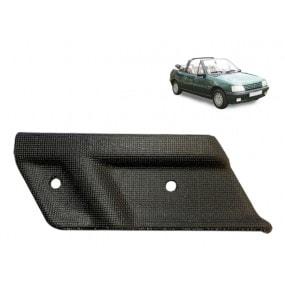 Angle de finition plastique pour capote de Peugeot 205 côté droit