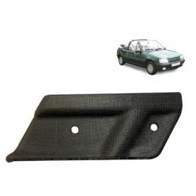Angle de finition plastique pour capote de Peugeot 205 côté gauche