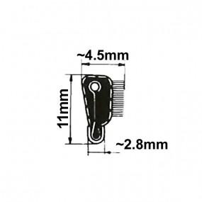 Lèche-vitre H. 11mm intérieur