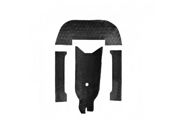 Habillage intérieur noir pour Alpine A110 (1300/1600S)