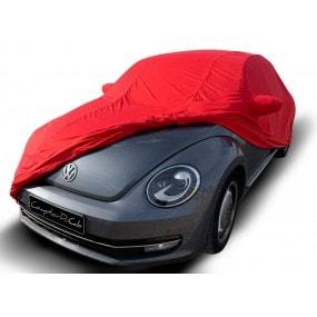 Bâche protection intérieure sur-mesure Volkswagen Coccinelle en Jersey Coverlux - rouge