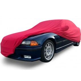 Bâche protection intérieure sur-mesure BMW E36 en Jersey Coverlux - rouge