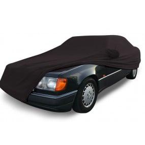 Bâche protection intérieure sur-mesure Mercedes Classe E A124, C124 en Jersey Coverlux - noir