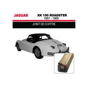 Joint de coffre pour les cabriolets Jaguar XK 150 Roadster