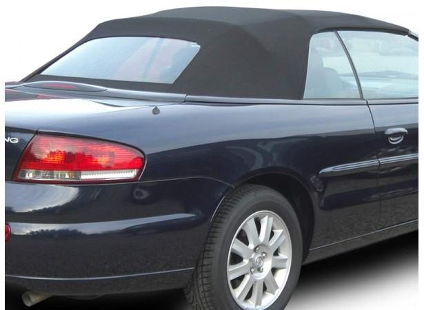 Capote auto Chrysler Sebring cabriolet en Alpaga LM avec lunette arriere