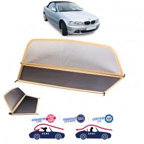 Windschott, filet saute-vent beige, Bmw E46 cabriolet
