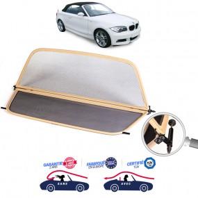 Windschott, filet saute-vent beige, BMW E88 Série 1 cabriolet +