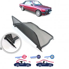 Filet coupe-vent, Windschott Bmw E30 cabriolet