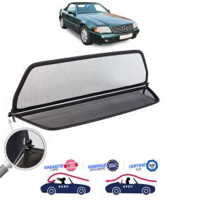 Filet coupe-vent, Windschott Mercedes 300SL (R129) cabriolet