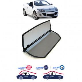 Filet coupe-vent, anti-remous, Windschott Renault Megane CC 3 cabriolet