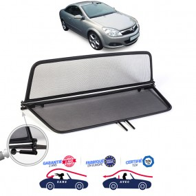 Filet coupe-vent, anti-remous, Windschott Opel Astra H cabriolet