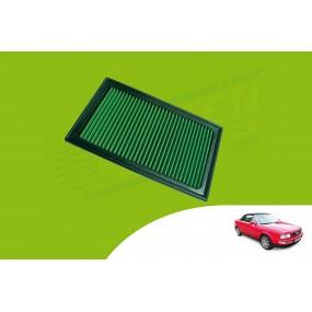 Filtre à air hautes performances GREEN cabriolet Audi 80
