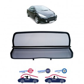Filet coupe-vent, anti-remous , Windschott Peugeot 307 CC cabriolet