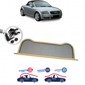 Filet coupe-vent, Windschott beige Audi TT MK1 8N cabriolet