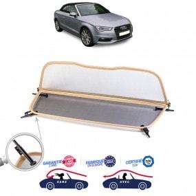 Windschott, filet saute-vent beige Audi A3 cabriolet type 8V