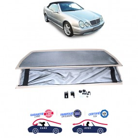 Filet saute-vent, Windschott beige Mercedes CLK (A208) cabriolet