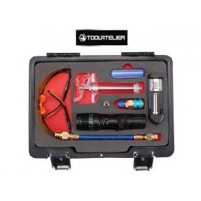 Coffret de détection de fuites de gaz de climatisation automobile - ToolAtelier®
