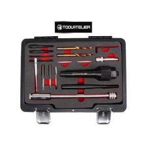 Coffret d'extracteurs de bougies de préchauffage et réparation de filetages - ToolAtelier®
