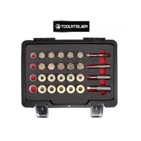 Coffret 64 pieces pour la réparation des vis de carter moteur - ToolAtelier®