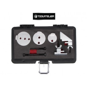 Outils pour pose/dépose courroies élastiques et trapézoïdale à nervures - ToolAtelier®