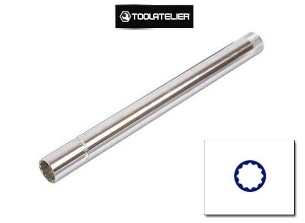 """Douille longue pour bougies 14 mm 3/8"""" - ToolAtelier®"""