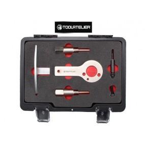 Coffret d'outils de calage pour Fiat / Alfa et Lancia moteurs 1.6 - 1.9 - 2.0 et 2.4L JTD - ToolAtelier®