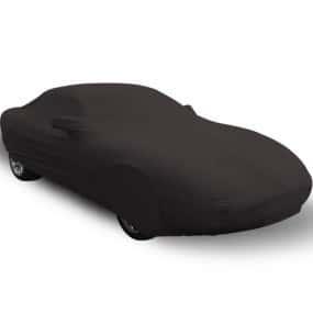 Bâche protection intérieure sur-mesure Jaguar XK8 en Jersey Coverlux - noire