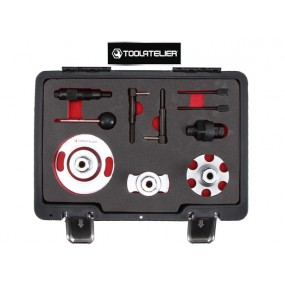 Coffret d'outils de calage de distribution pour moteurs 2.7 et 3.0L TDI VAG - ToolAtelier®