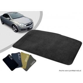 Tapis coffre sur-mesure Opel Astra H cabriolet moquette aiguilletée surjetée