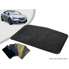 Tapis coffre sur-mesure Opel Cascada cabriolet moquette aiguilletée surjetée