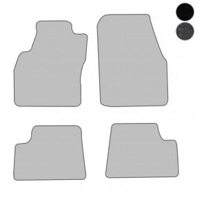 Jeu de 4 tapis de sol Coverlux pour Opel Astra H cabriolet en velours