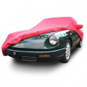 Bâche protection intérieure sur-mesure Alfa Romeo Coda Tronca en Jersey Coverlux - rouge