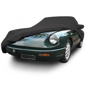 Bâche protection intérieure sur-mesure Alfa Romeo Coda Tronca en Jersey Coverlux - noir