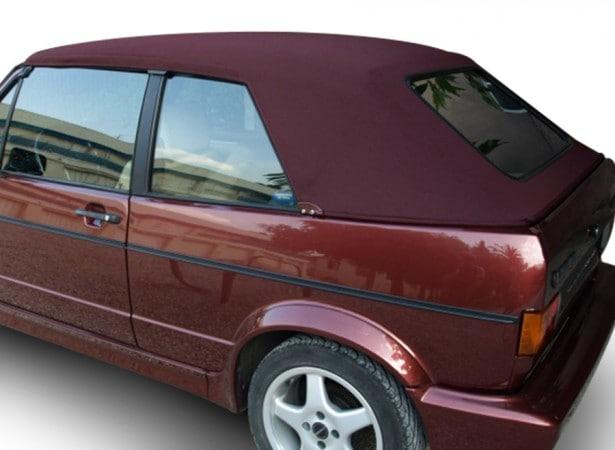 Capote auto Volkswagen Golf 1 et 2 cabriolet en Alpaga Stayfast