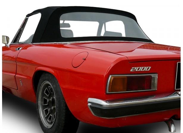 Capote Alfa Romeo Coda Tronca (1750/2000) cabriolet en Alpaga Stayfast