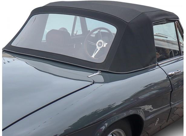 Capote Alfa Romeo Spider Duetto cabriolet coton double face Pininfarina