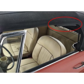 Joint d'étanchéité arceau/vitre Peugeot 404 cabriolet