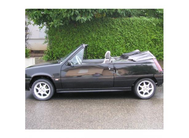 capote renault super 5 cabriolet en vinyle. Black Bedroom Furniture Sets. Home Design Ideas