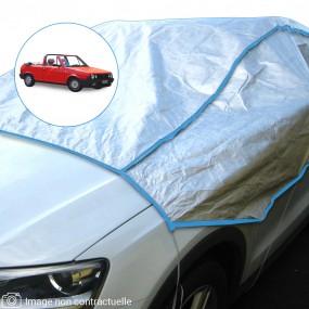 Demi-housse mixte en Tyvek Fiat Ritmo cabriolet