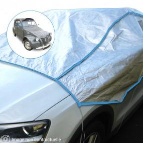 Demi-housse mixte en Tyvek Citroën 2CV découvrable