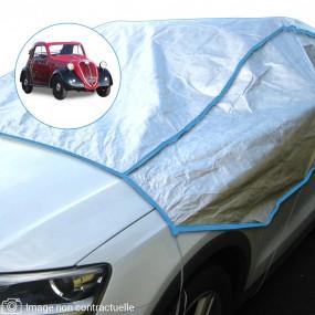 Demi-housse mixte en Tyvek Fiat 500C Topolino cabriolet